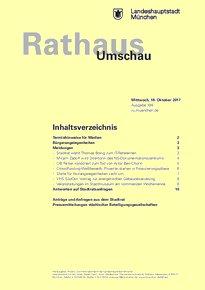 Rathaus Umschau 198 / 2017