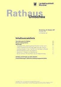 Rathaus Umschau 199 / 2017