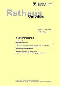 Rathaus Umschau 2 / 2017