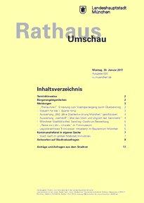 Rathaus Umschau 20 / 2017
