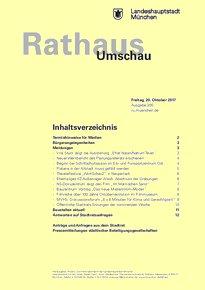 Rathaus Umschau 200 / 2017