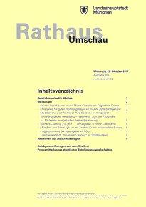 Rathaus Umschau 203 / 2017