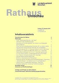 Rathaus Umschau 205 / 2017