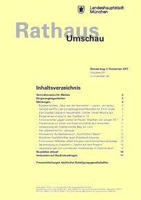 Rathaus Umschau 207 / 2017