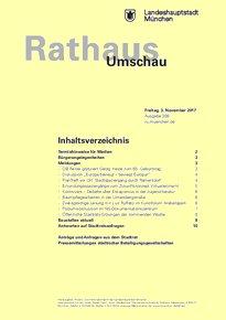 Rathaus Umschau 208 / 2017