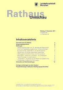 Rathaus Umschau 209 / 2017