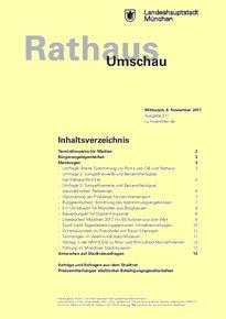 Rathaus Umschau 211 / 2017