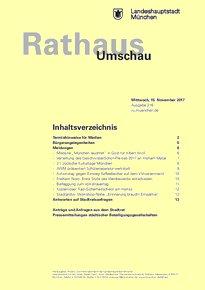 Rathaus Umschau 216 / 2017