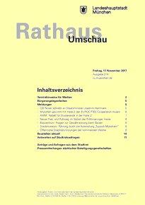 Rathaus Umschau 218 / 2017