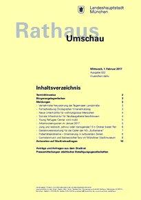 Rathaus Umschau 22 / 2017