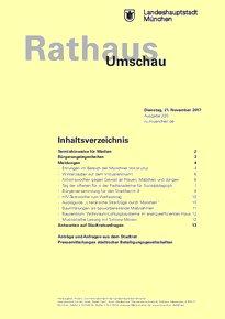 Rathaus Umschau 220 / 2017