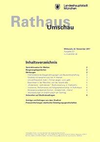 Rathaus Umschau 221 / 2017