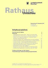 Rathaus Umschau 222 / 2017
