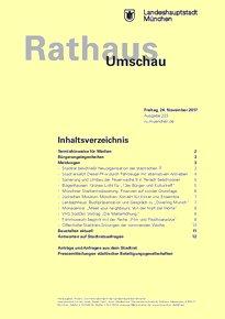 Rathaus Umschau 223 / 2017