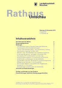 Rathaus Umschau 225 / 2017
