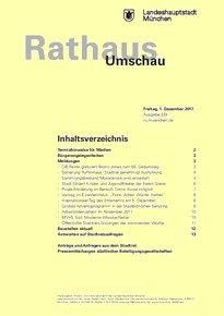 Rathaus Umschau 228 / 2017