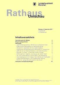 Rathaus Umschau 229 / 2017