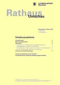 Rathaus Umschau 23 / 2017