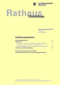 Rathaus Umschau 230 / 2017