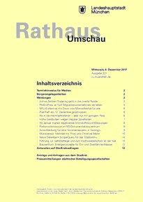 Rathaus Umschau 231 / 2017