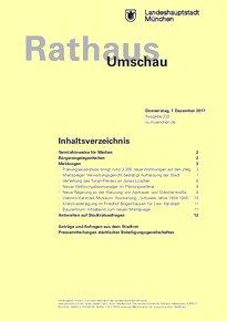 Rathaus Umschau 232 / 2017