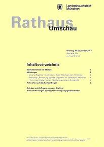 Rathaus Umschau 234 / 2017