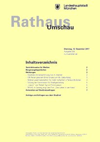 Rathaus Umschau 235 / 2017