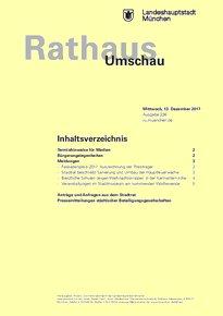 Rathaus Umschau 236 / 2017