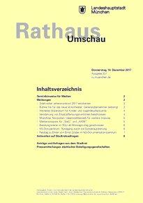 Rathaus Umschau 237 / 2017