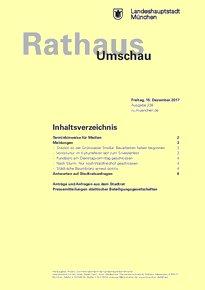 Rathaus Umschau 238 / 2017
