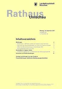 Rathaus Umschau 239 / 2017