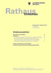 Rathaus Umschau 242 / 2017
