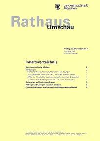 Rathaus Umschau 243 / 2017