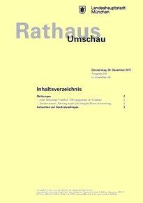 Rathaus Umschau 245 / 2017