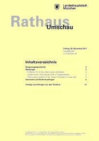 Rathaus Umschau 246 / 2017