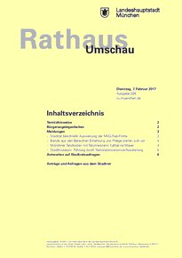 Rathaus Umschau 26 / 2017