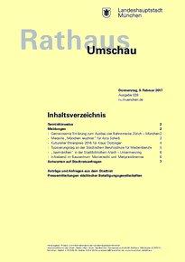 Rathaus Umschau 28 / 2017