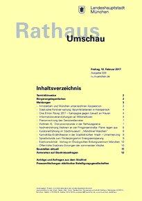 Rathaus Umschau 29 / 2017