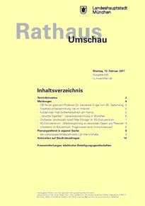 Rathaus Umschau 30 / 2017