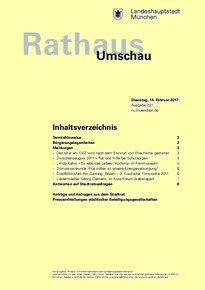 Rathaus Umschau 31 / 2017