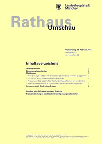 Rathaus Umschau 33 / 2017