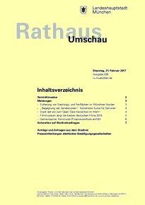 Rathaus Umschau 36 / 2017
