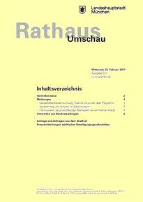 Rathaus Umschau 37 / 2017