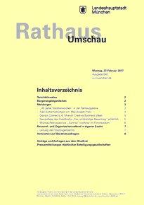 Rathaus Umschau 40 / 2017