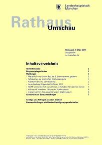 Rathaus Umschau 41 / 2017