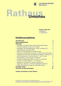 Rathaus Umschau 43 / 2017