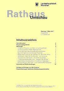 Rathaus Umschau 45 / 2017