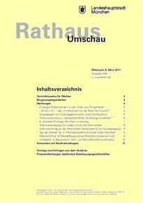 Rathaus Umschau 46 / 2017