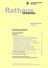 Rathaus Umschau 47 / 2017