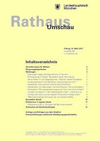 Rathaus Umschau 48 / 2017